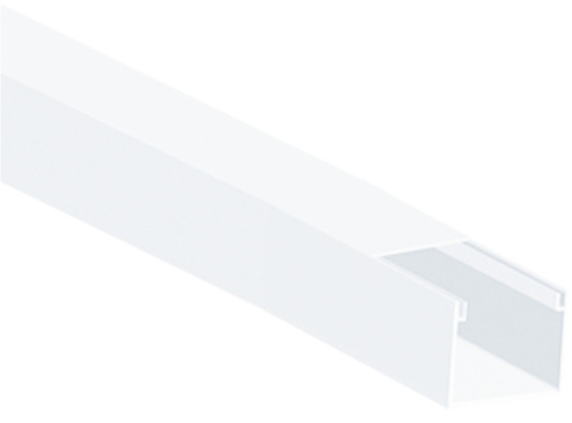 LISTWA INSTALACYJNA KPL (PACZKA 10 szt.) 25mm x 18mm, długość 2m
