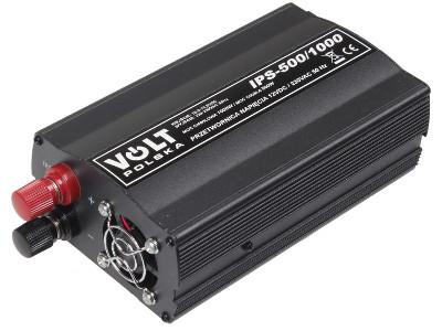 PRZETWORNICA IPS-500/1000 12V / 230V 500/1000W