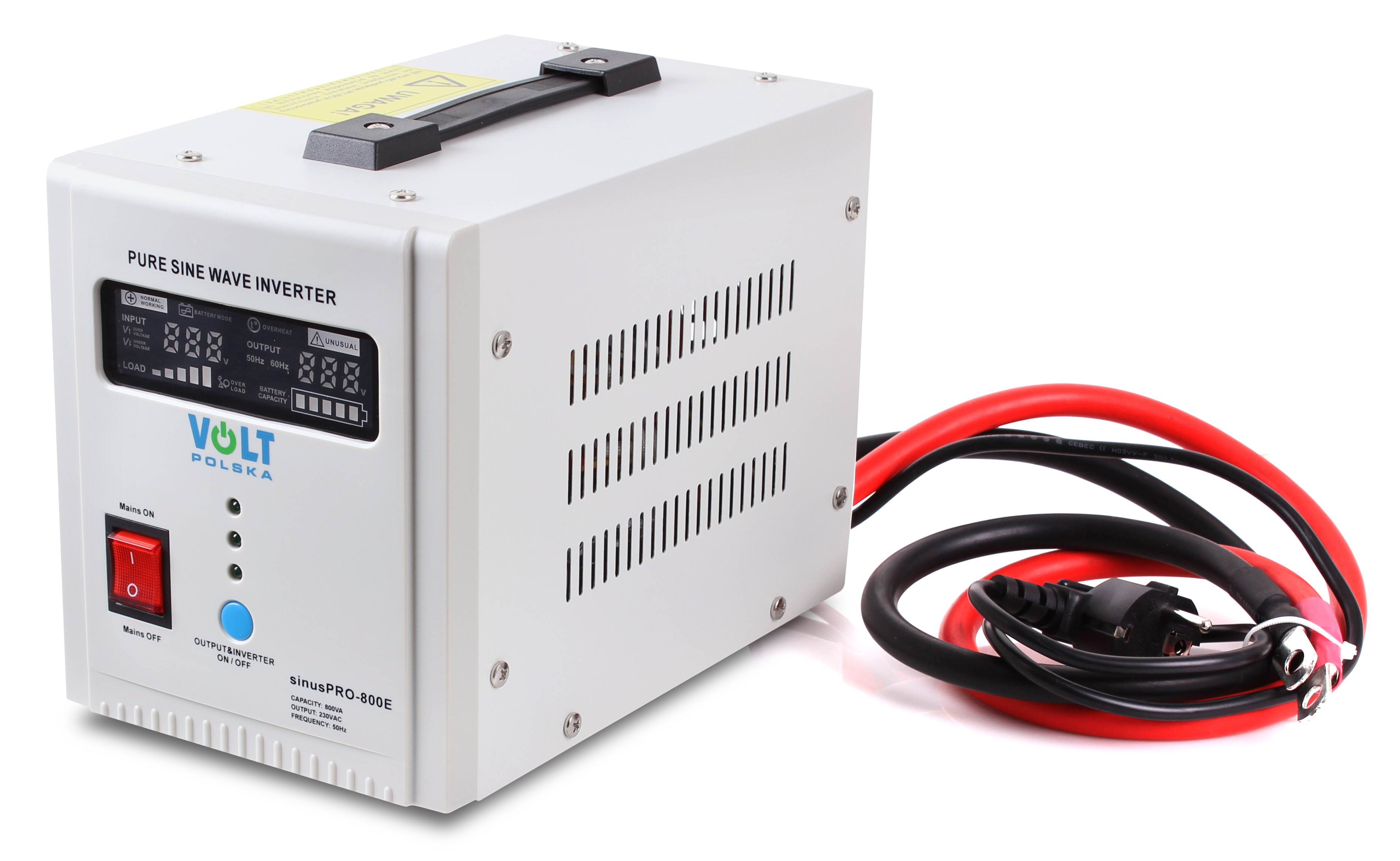 PRZETWORNICAVOLT SINUSPRO-800E12V 500/800W