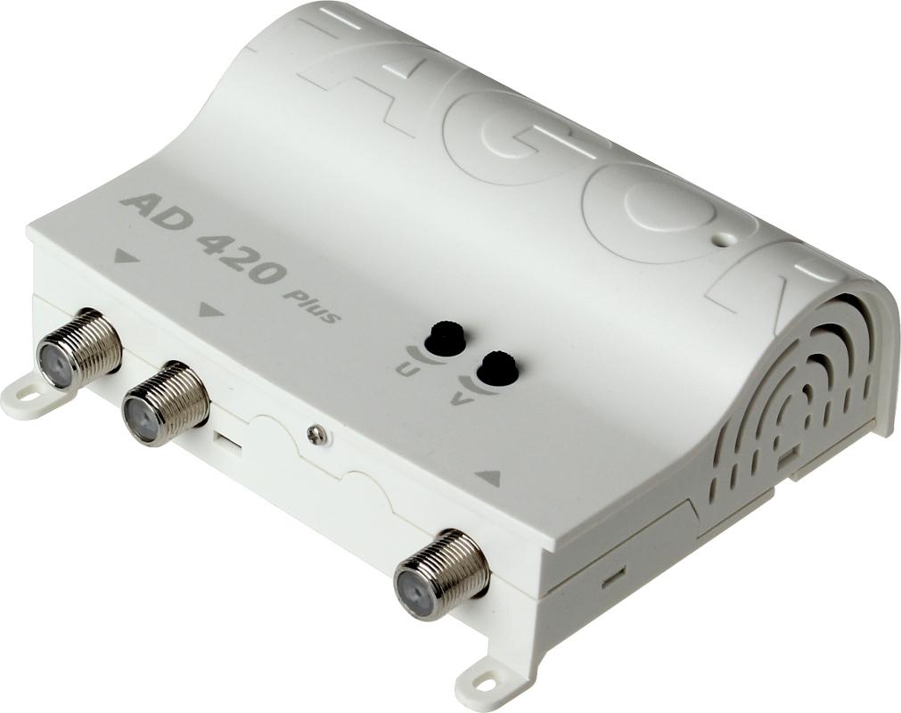 WZMACNIACZ ANTENOWY  FAGOR AD420  DVB-T 2TV