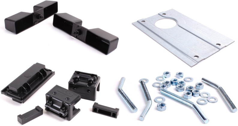 Nadajnik, odbiornik, fotokomórki oraz akcesoria montażowe