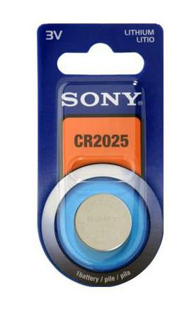 Bateria Sony CR2025 1szt Blister