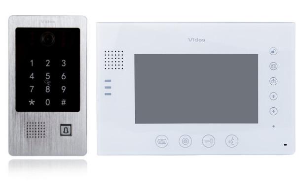 Wideodomofon VIDOSM670W-S2/S20DA