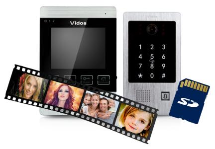 Zapis zdjęć i filmów na karcie pamięci micro SD