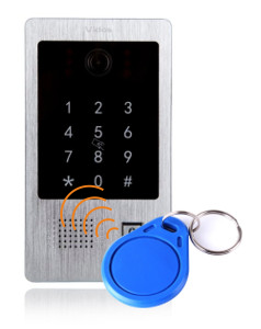Możliwość otwarcia furtki za pomocą kodu lub karty/breloka zbliżeniowego