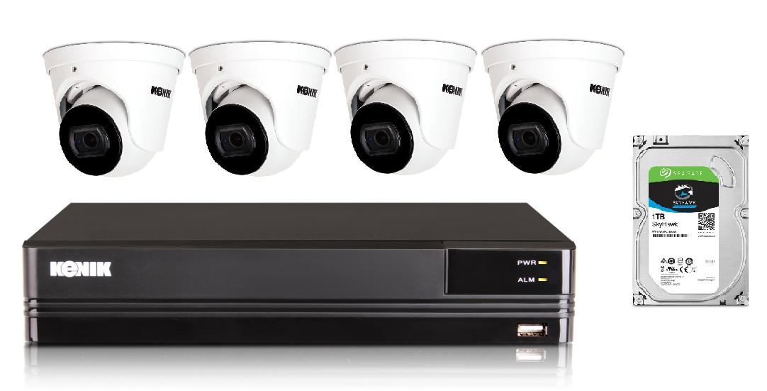 Zestaw monitoringu IP domu Kenik
