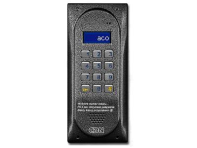 CDNP6ACC CENTRALA DOMOFONOWA LCD CZYTNIK 9312