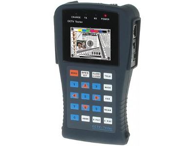 NIEZASTĄPIONY, WIELOFUNKCYJNY CCTV - TESTER ST-601 WBUDOWANY MONITOR LCD 2,5
