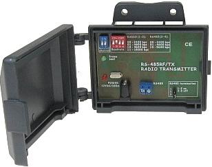 NADAJNIK DO BEZPRZEWODOWEJ TRANSMISJI DANYCH RS-485RF/TX