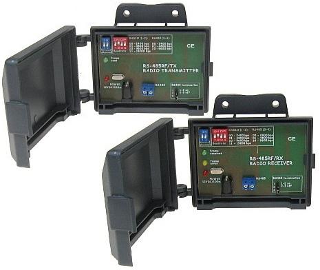 NADAJNIK + ODBIORNIK RADIOWY RS-485RF/TX + RS-485RF/RX ZESTAW DO BEZPRZEWODOWEJ TRANSMISJI DANYCH