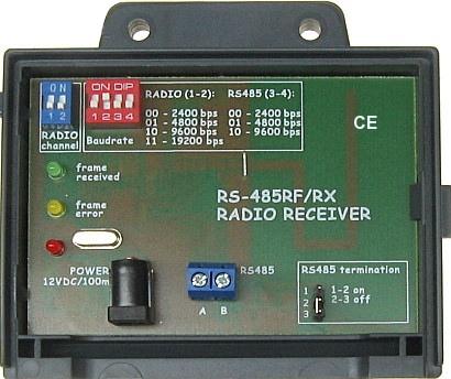 ODBIORNIK RADIOWY RS-485RF/RX