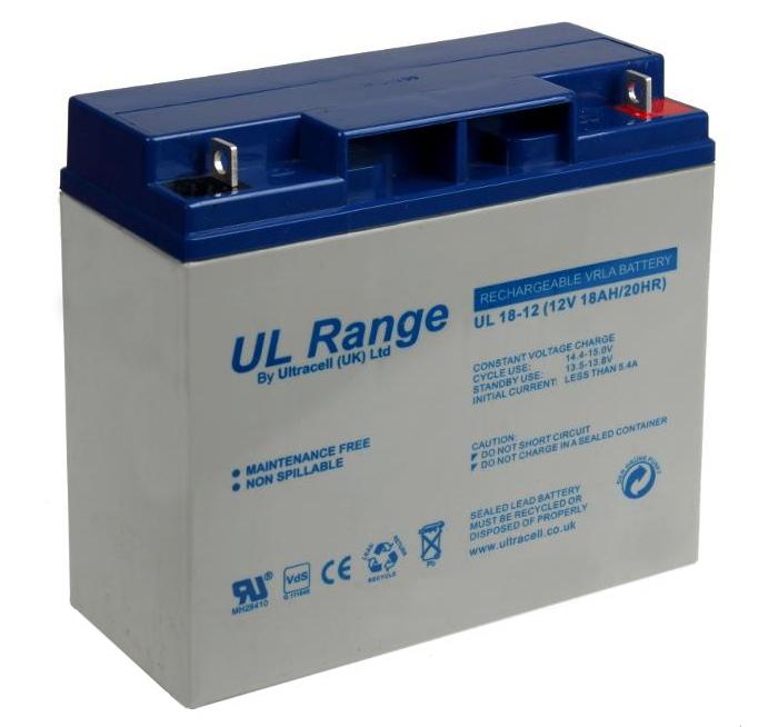 Akumulator AGM ULTRACELL UL 12V 18AH