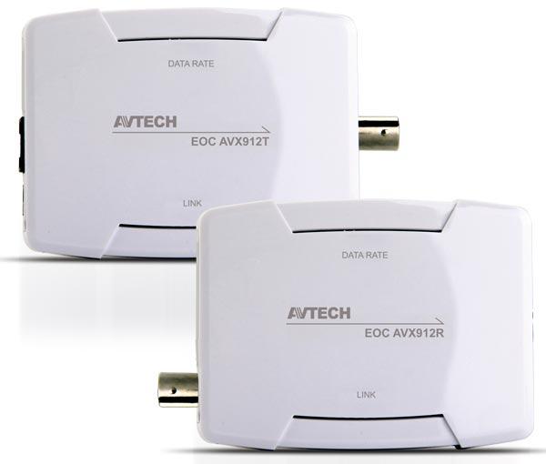 KONWERTER AVTECH AVX916 PRZEDŁUŻACZ HDMI I USB PO KABLU KONCENTRYCZNYM - ODBIORNIK