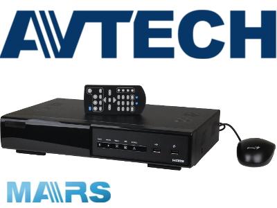 REJESTRATOR IP AVTECH AVH0401 4 KANAŁY POE HDMI