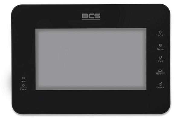 MONITOR DO WIDEODOMOFONÓW IP  BCS BCS-MON7000B