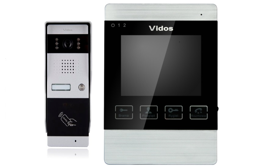 Wideodomofon VIDOS M904/S50A
