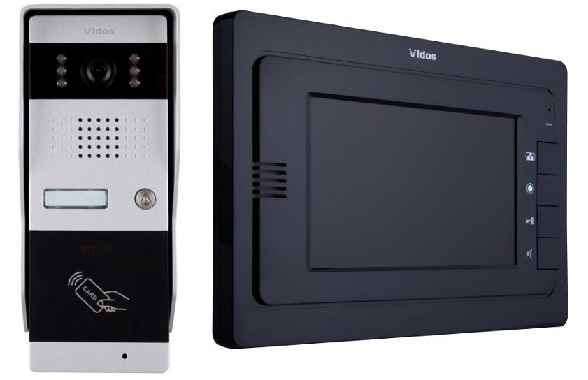 Wideodomofon VIDOS M323B / S50A Sterowanie bramą