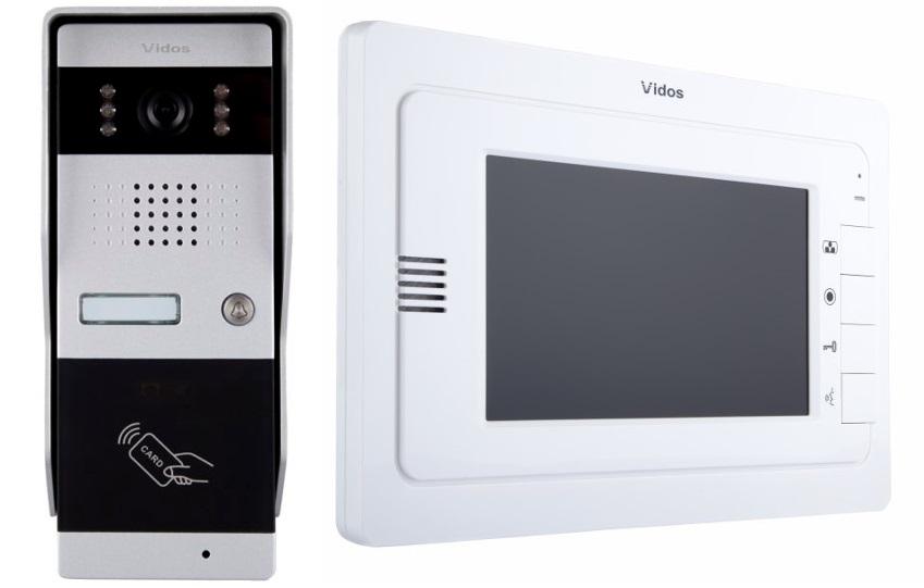 Wideodomofon VIDOS M323W / S50A Sterowanie bramą