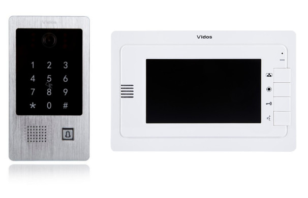 Wideodomofon VIDOS M323W / S20DA Sterowanie bramą
