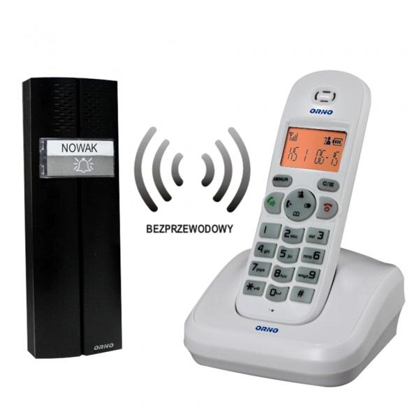 BEZPRZEWODOWY TELE-DOMOFON ORNO OR-DOM-CL-910/W