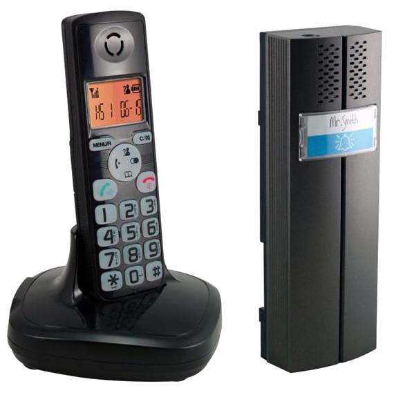 DOMOFON BEZPRZEWODOWY Z TELEFONEM 2W1 EURA CL-3622