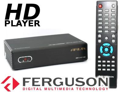FERGUSON ARIVA HDplayer 110 HD MKV H.264 LAN