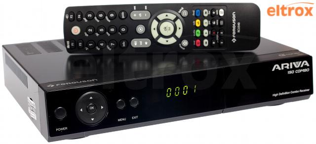 CYFROWY TUNER FERGUSON ARIVA 150 COMBO TV NAZIEMNA I SATELITARNA MPEG-2, MPEG-4, MPEG-4 AVC/H.264