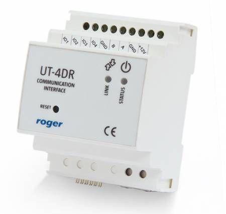 INTERFEJS RS485-ETHERNET UT-4DR ROGER
