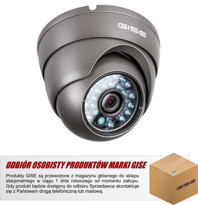 Kamera zewnętrzna  900 LINII 2.8MM IR 20M