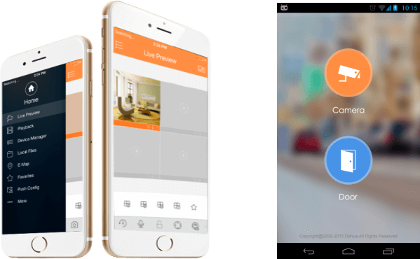 Aplikacja mobilna GDMSS