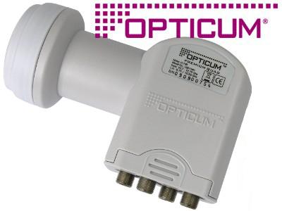 KONWERTER GLOBO OPTICUM QUAD HD 3D 0,1dB 9182