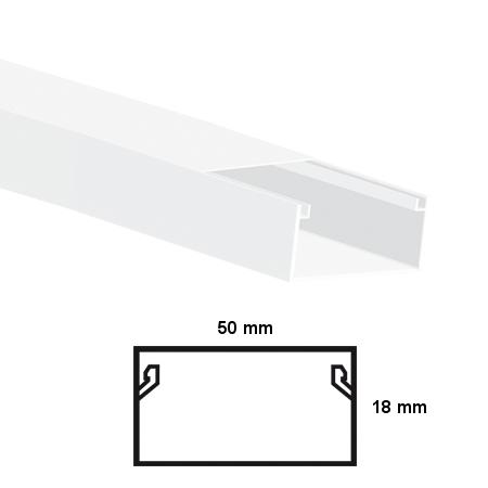 LISTWA ELEKTROINSTALACYJNA KPL  50x18 2M