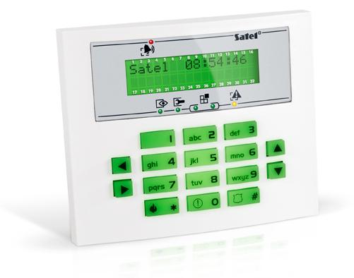 MANIPULATOR LCD INT-KLCDS-GR ZIELONE PODŚWIETLENIE