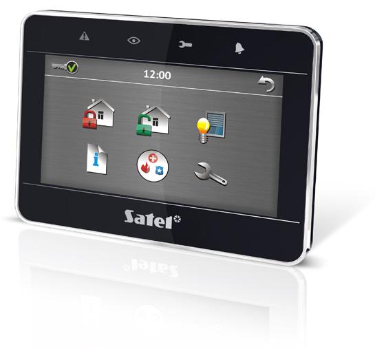 Manipulator dotykowy, graficzny, 4,3 cala SATEL INT-TSG-BSB