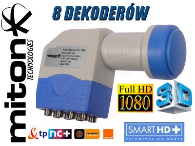 KONWERTER MITON OCTO MT-208 FULLHD 3D 0.1 DB
