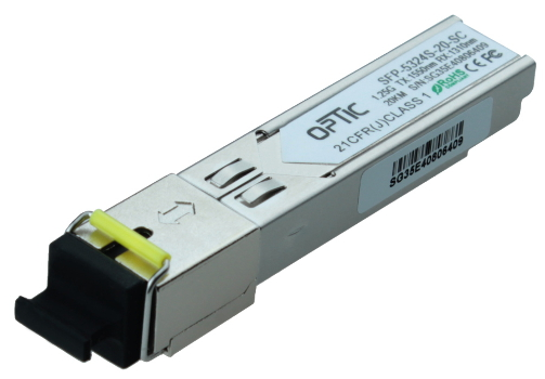 MODUŁ OPTIC WDM SFP  1.25GB/S SC (20KM) SM
