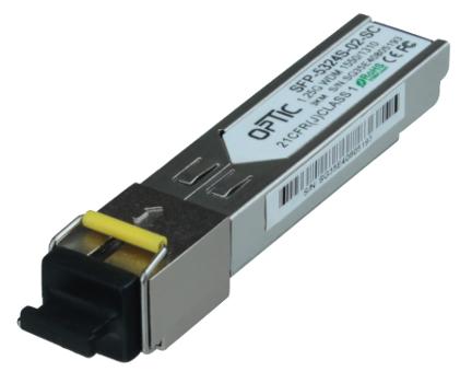 MODUŁ OPTIC WDM SFP  1.25GB/S SC (3KM) SM 10DB