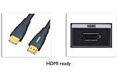 STANDARD HDMI-READY ZAPEWNIA DOSKONAŁY OBRAZ FULL HD