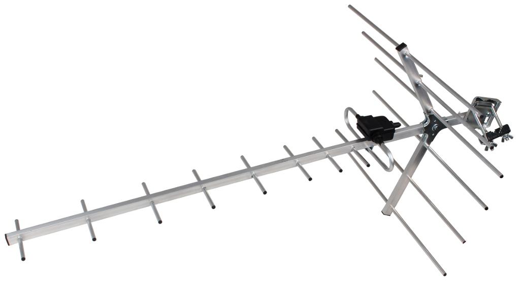 ANTENA DVB-T UHF  ODBIÓR NA PAŚMIE 6-69