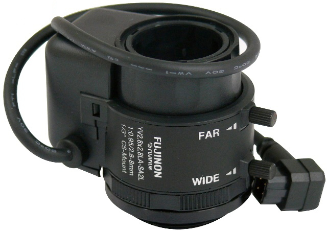 OBIEKTYW SZEROKOKĄTNY  FUJINON 2.8-8mm F0.95
