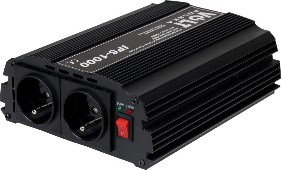 PRZETWORNICA IPS-1000 12V / 230V 700/1000W
