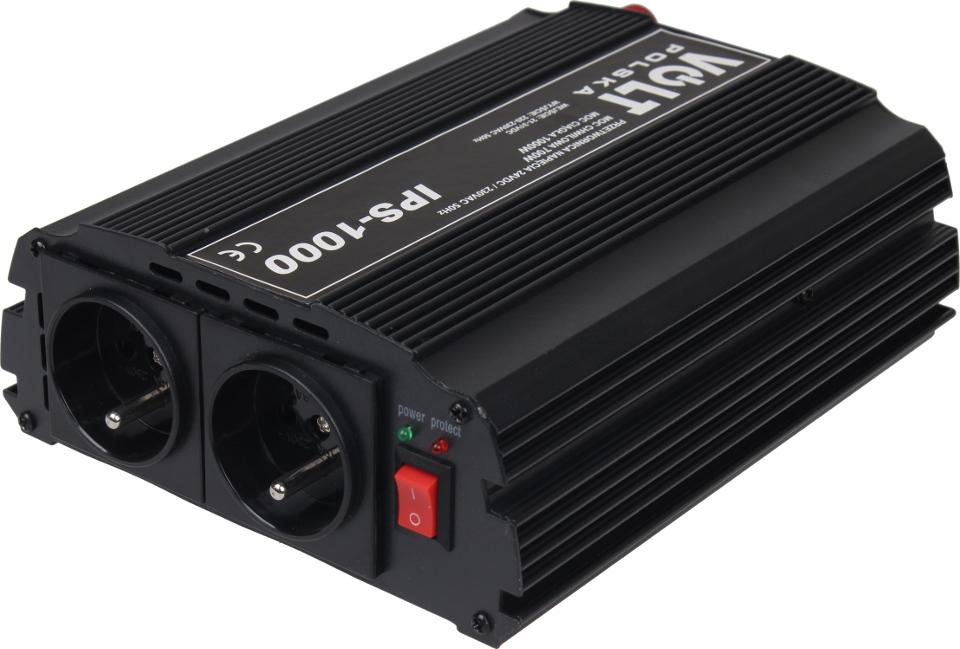 PRZETWORNICA IPS-1000 24V / 230V 700/1000W