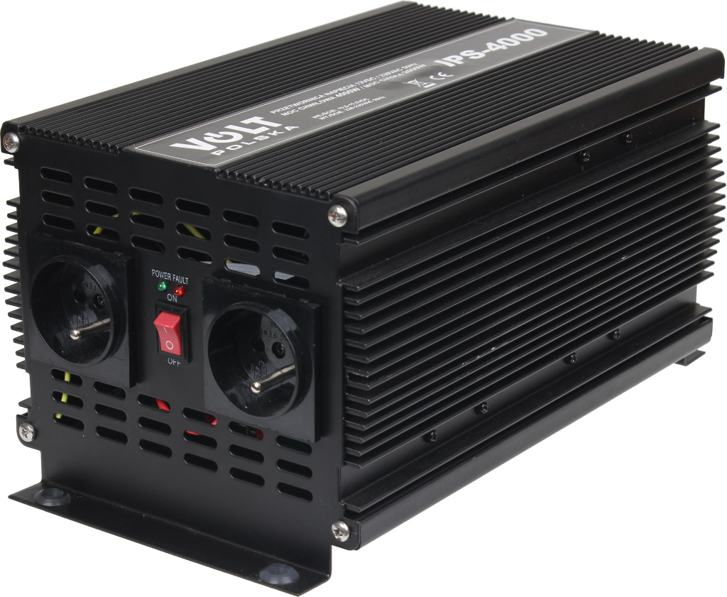 PRZETWORNICA IPS-4000 12V / 230V 2000/4000W