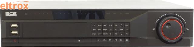 PROFESJONALNY REJESTRATOR SIECIOWY BCS-NVR32085M 32 KANAŁY IP