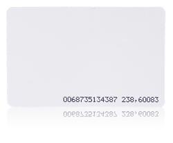 Karta zbliżeniowa cienka PVC  EM 125 kHz z układem Q5