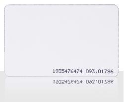 Karta zbliżeniowa cienka PVC 13.56 MHz MIFARE®