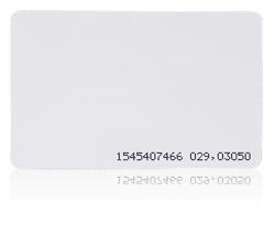 Karta zbliżeniowa cienka PVC  13.56 MHz MIFARE® Classic 4K