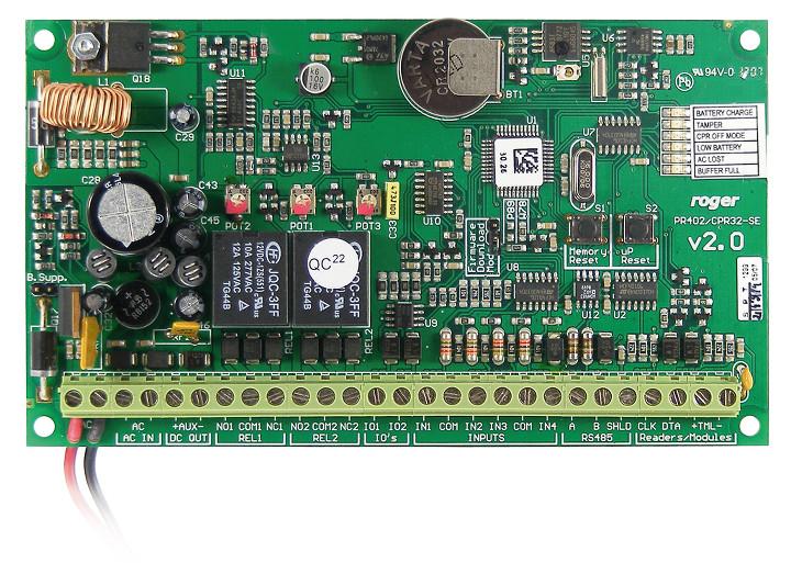 CENTRALA SYSTEMU RACS CPR32-SE-BRD ROGER