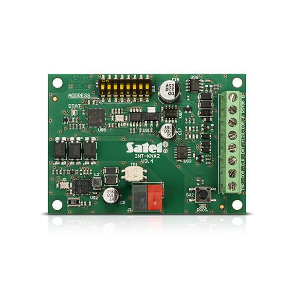 Moduł integracji  z systemem KNX SATEL INT-KNX-2