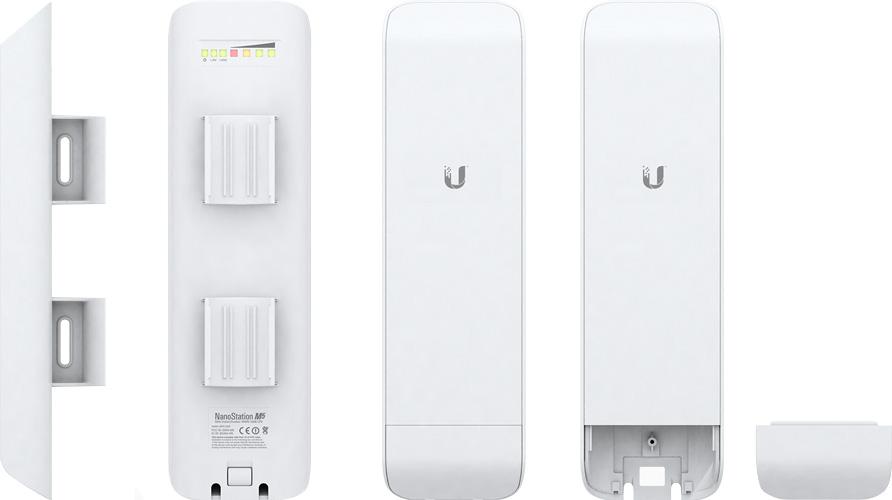 UBIQUITI NETWORKS NanoStation M5 :: 5 GHz Hi POWER 2x2 MIMO AirMax TDMA Station